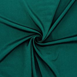 Fabric with crêpe effect - green