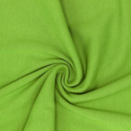 Tubular edging fabric - green