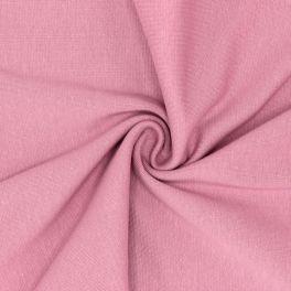 Bord côte tubulaire vieux rose