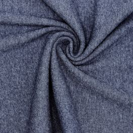 Tubular edging fabric - denim blue