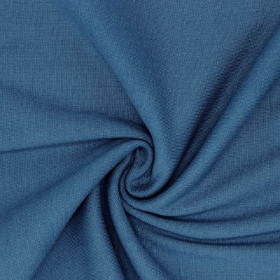 Tubular edging fabric - blue