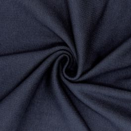 Tubular edging fabric - navy blue