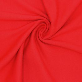 Tubular edging fabric - red