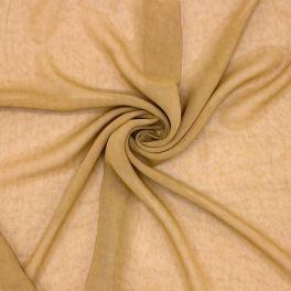 Slightly marbled veil - beige
