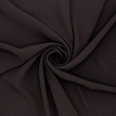Crêpe fabric with satin underside