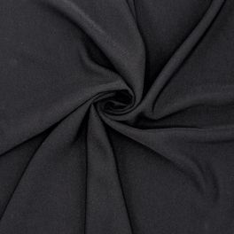 Extensible apparel fabric - black