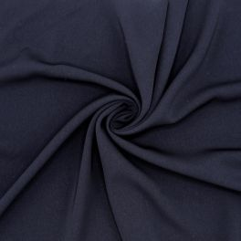 Extensible apparel fabric - navy blue