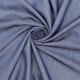 Flexible and light denim fabric