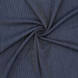 Extensible apparel fabric - blue