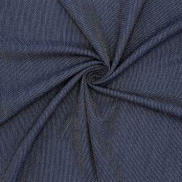 Tissu vestimentaire extensible bleu