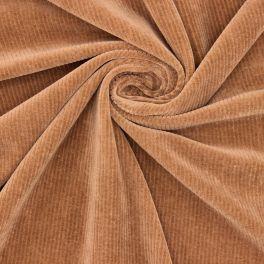 Ribbed Nicky velvet - brown