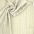 Smooth pleated panne velvet