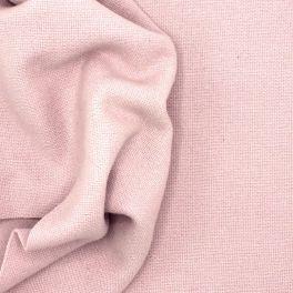 Apparel fabric in wool - pink