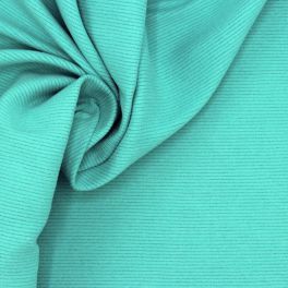 Fabric in polyester - turquoise