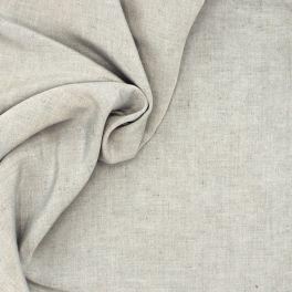 Tissu viscose effet flammé gris