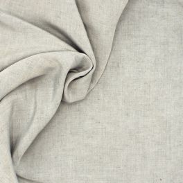 Viscose fabric with flamed effect - grey