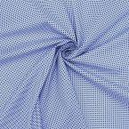 Cotton fabric with geometric prints