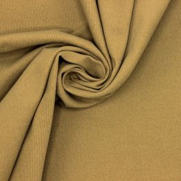 Stretch cotton with twill weave - camel