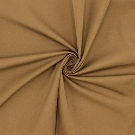 Tissu sergé stretch cannelle