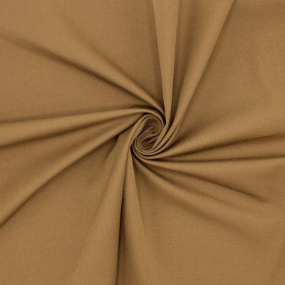 Stretch fabric with twill weave - cinnamon color