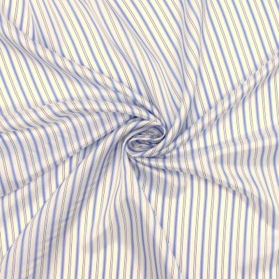 Satinized lining with stripes