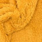 Sherpa polyesterstof - mosterdgeel
