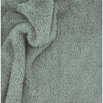 Tissu polyester sherpa gris foncé