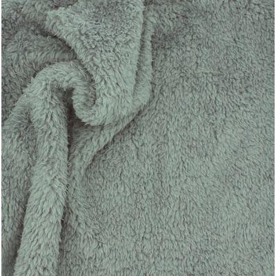 Sherpa polyesterstof - donkergrijs