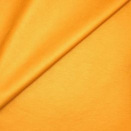 Faux leather - satinized mustard yellow