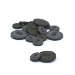 Resin button - khaki