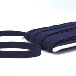 Flat elastic 20mm - navy blue
