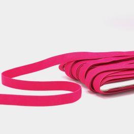Platte elastiek 20mm - fuchsia