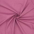 Cotton with dots - pink background