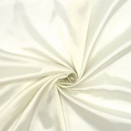 Satinized twill lining fabric - off white
