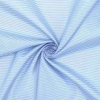 Polyester lining fabric with blue stripes