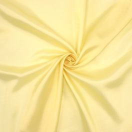 Satinized lining fabric in viscose - yellow