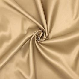 Satijn voeringstof 100% polyester - beige