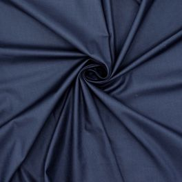 100% cotton lining fabric - navy blue