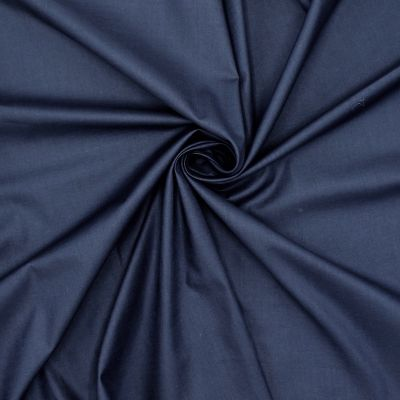 100% katoen voeringstof - marineblauw