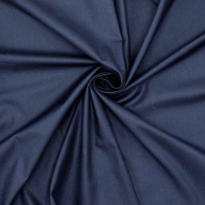 Doublure 100%coton bleu marine