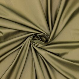 Satijn voeringstof 100% polyester - kaki