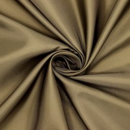 100% polyester lining fabric - khaki