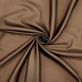 100% polyester lining fabric - chocolat