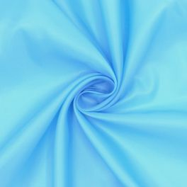 100% polyester lining fabric - sky blue