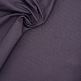 Ribbed cotton - plum
