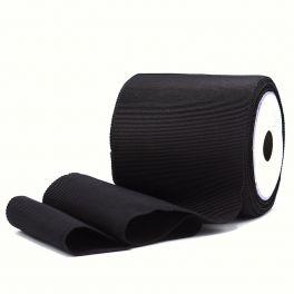 Elastique noir de 10cm