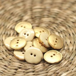Round button 22mm - vanilla