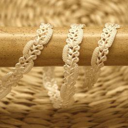 Fantasy braid trim - off white