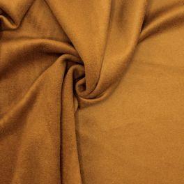Laine épaisse type feutre brun