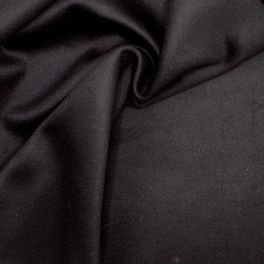 Fabric in polyester - black and white